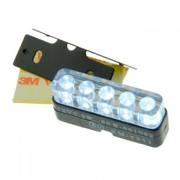LED Light CE approval license plate 12V, 0.5W STR8-Tuning!