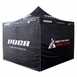 Tent foldable Voca Racing 3x3m includes bag