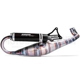 Exhaust Minarelli horizontal Road-Race 70 Voca black silencer