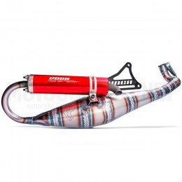 Exhaust Minarelli horizontal Road-Race 70 Voca red silencer
