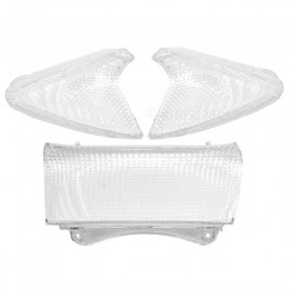 Rear Lens for tail light and indicators White Transparent Yamaha T-Max 2001-2007