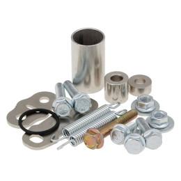 Bracket and screws kit for exhaust Yasuni HMR2 Aprila RS50 TUB311