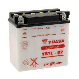 Battery YB7L-B2 Yuasa without acid