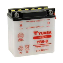 Battery YB9-B Yuasa with acid