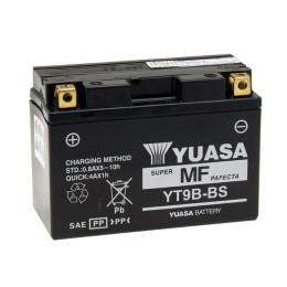 Battery YT9B-BS Yuasa with acid