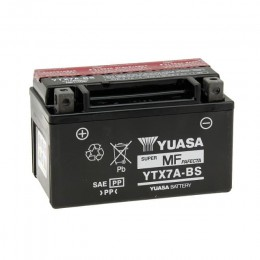 Battery YTX7A-BS Yuasa with acid