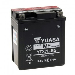 Battery YTX7L-BS Yuasa with acid